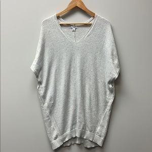 Old Navy Gray Poncho Sweater